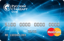 Rредитная карта в Русском Стандарте