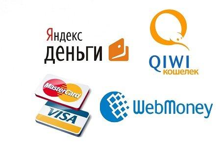 Платежные системы для пополнение карты Почта Банка