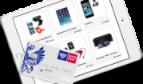 Вид интернет-банка Почта Банка на планшете
